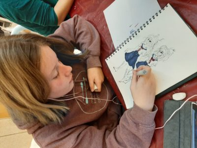 Morning Art Class for Kids