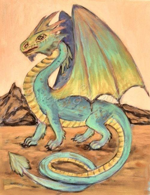 Dragon Painting Class