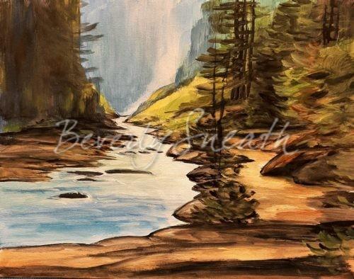 Misty River Paint Party